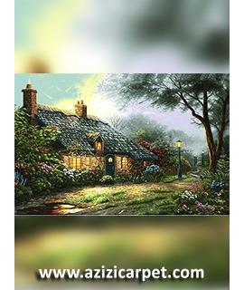 نخ و نقشه خانه روستایی