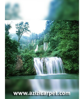 نخ و نقشه آبشار