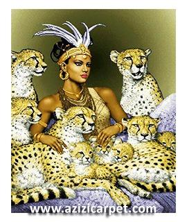 نخ و نقشه ملکه چیتاها