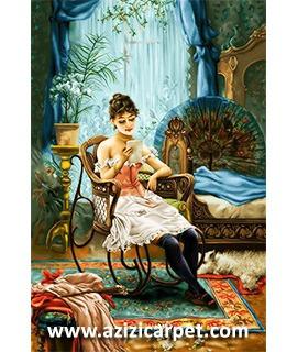 تابلو فرش نقاشان خارجی