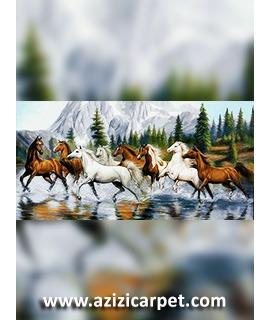 طرح نخ و نقشه فرار اسب های وحشی