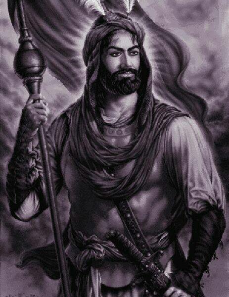 نخ و نقشه تابلو فرش امام حسین