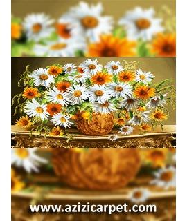 نخ و نقشه گل